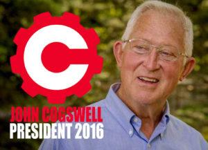 John Marshall Cogswell For President 2016